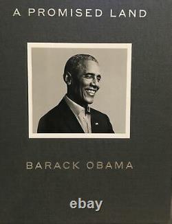 Barack Obama A Dédicacé Livre A Promised Land Deluxe Edition Jsa Certifié