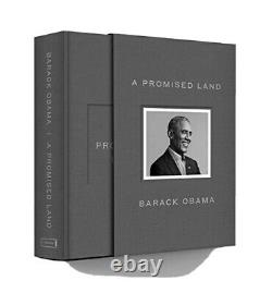 Barack Obama A Promised Land Deluxe Signed Edition Hardcover Book