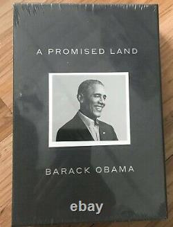Barack Obama A Signé Un Autographe Un Livre Terrestre Promis Deluxe Edition Navires Aujourd'hui