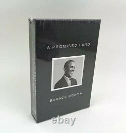 Barack Obama A Signé Un Livre Promis Land Deluxe Dédicacé Nouveau