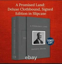 Barack Obama A Signé Une Édition Promise Land Deluxe