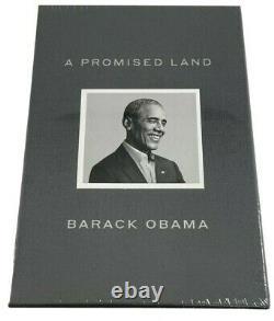 Barack Obama A Signé Une Promesse Land Deluxe 1ère Édition 44 Président Scellé