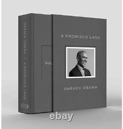 Barack Obama A Signé Une Promesse Land Deluxe 1ère Édition Autographié