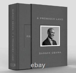 Barack Obama A Signé Une Promesse Land Deluxe 1ère Édition Autographié Navire Gratuit