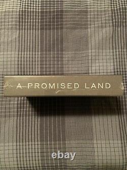 Barack Obama A Signé Une Promesse Land Deluxe 1ère Édition Dédicacée - À La Main