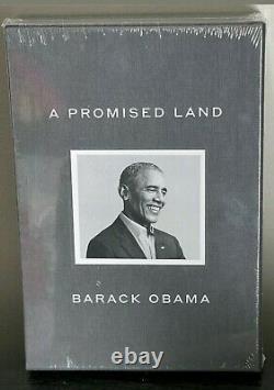 Barack Obama A Signé Une Promesse Land Deluxe 1ère Édition Dédicacée Nouveau Et Scellé