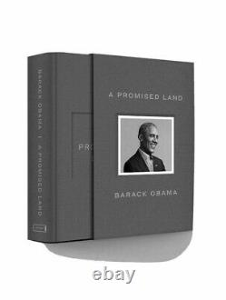 Barack Obama A Signé Une Promesse Land Deluxe 1ère Édition Dédicacée Signé