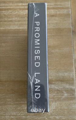 Barack Obama A Signé Une Promesse Land Deluxe 1st Ed. Autographié
