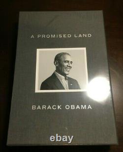 Barack Obama Une Terre Promise Deluxe Signé Édition Autographiée Flambant Neuf À La Main