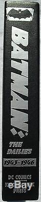 Batman Les Quotidiens Relié Slipcase Ltd 500 Hc Rare Bob Kane Numérotés Et Signés