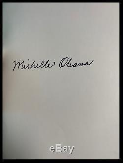 Becoming Signée Par Obama Michelle Nouveau Scellé En Tissu De Luxe Bound Livre Relié Cadeau
