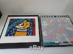 Britto Party Girl Romero 224/250 Avec Romero Britto Deluxe Livre Rare