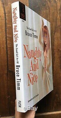 Bruce Timm Et Agreable Signé Naughty Numéroté Deluxe Relié Nm # 96/1000