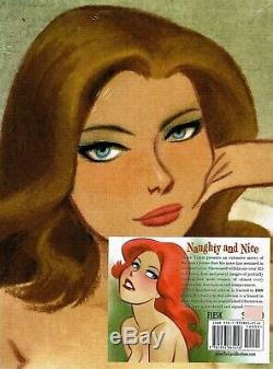 Bruce Timm Et Belle Signé Naughty Edition Deluxe Numéroté Hardcover Scellés