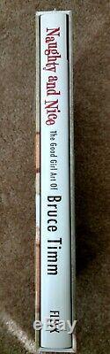 Bruce Timm Méchant Et Nice Deluxe Rare Ed. Signé Et Numéroté Hardcover Coffret