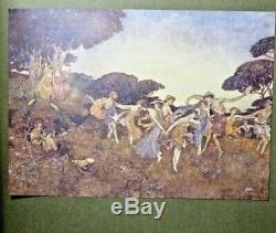 C1908 La Tempête Dulac Signé Deluxe Edmund Ltd Edition! Rare Livre Antique