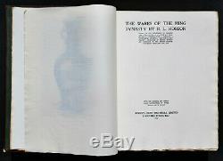 C1923, Scarce 1ère Édition Deluxe, Les Wares De La Dynastie Ming, Ltd Edition 256