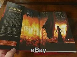 Carrie Stephen King Cemetery Dance Deluxe Signé Artist Edition Rare