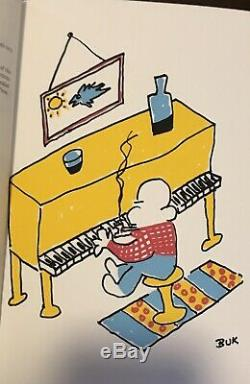 Charles Bukowski-copy-sceams Signe Deluxe Depuis Le Balcon-1993