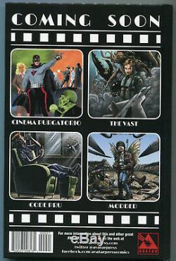 Cinéma Purgatorio Deluxe Signe (alan Moore, + Garth Ennis) Kickstarter Ed. Hc