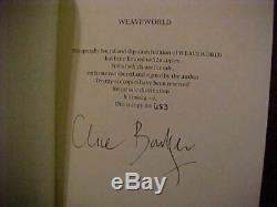 Clive Barker-weaveworld Signé! -uk Cuir Deluxe Ed