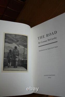 Cormac Mccarthy (2019)'the Road', Suntup Deluxe Limitée, Avec Lettre Signée