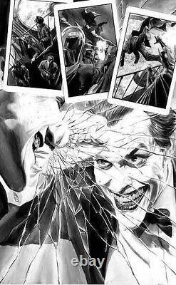 DC Comics Alex Ross Le Monstre Joker En Devenir! Impression D'art De Luxe Signée