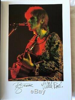 David Bowie Moonage Livre Daydream Genesis. Deluxe Edition Signée 245/350