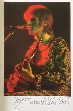 David Bowie'moonage Daydream' Ultra Rare Signé Deluxe Édition Limitée