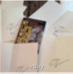 David Ellefson Ma Vie Avec Deth Signe Livre Avec Luxe En Cuir Box Megadeth