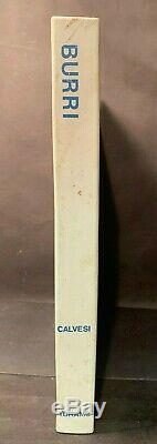 Deluxe Alberto Burri Monographie Avec Lithographie Signée 28/90 Fluxus Fontana Tapies