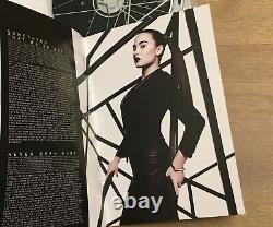 Demi Lovato Signé Delux CD DVD Heart Attack Néon Lumières Rare Lovatics