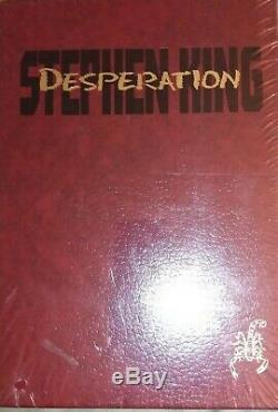 Désespoir Stephen King Deluxe Edition Limitée Cadeau En Slip Scellés Fr Case / Sh