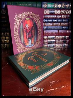 Dickens A Christmas Carol Signe Easton Press Leather Deluxe Limitée 1/1200