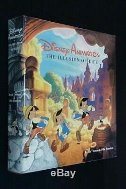 Disney Animation The Illusion Of Life Deluxe Signe 1st Ed Avec Bande De Film 1981