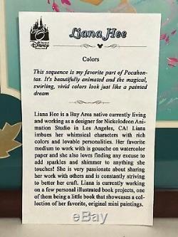 Disney Wonderground Galerie Pocahontas Couleurs Imprimer Deluxe Signé Par Liane Hee