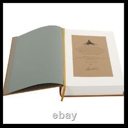 Dune De Frank Herbert Signé Par New Folio Society Artiste Deluxe Limitée 1/500