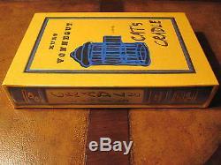 Easton Press Cat Kurt Vonnegut Pendule Limited Ont Signé Deluxe Limitée Scellés