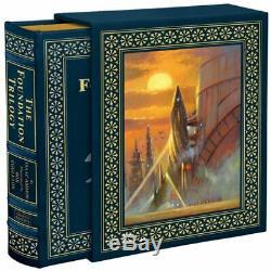 Easton Press Foundation Trilogy Isaac Asimov Deluxe Illustrateurs Etanche