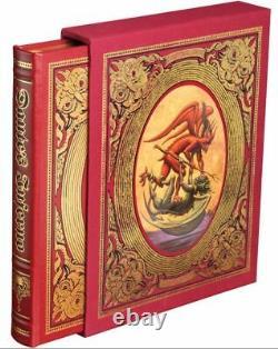 Easton Press L'enfer De Dante Alighieri Etanche Deluxe Edition Limitée Signe