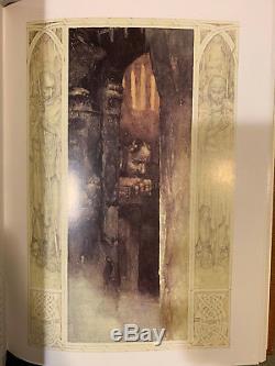 Easton Press Mabinogion Par Alan Lee Illustrateur Signe Deluxe Edition Nouveau