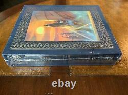 Easton Press Trilogie De Fondation Isaac Asimov Deluxe Artist Signed Seled Limited