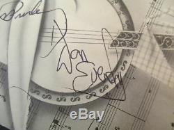 Elvis Presley Don Everly Signé Programme Grand Old Opry 1957 Avec Jsa Loa Authentic