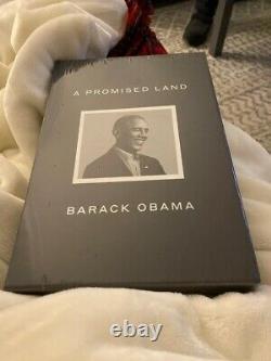 En Main Barack Obama A Signé Une Promesse Land Deluxe 1ère Édition Dédicacée