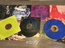 Ensemble De Boîte En Vinyle Gorillaz Humanz Super Deluxe. Edition Limitée Très Rare Signé