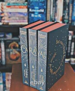 Fairy Caraval Deluxe Edition Par Stephanie Garber Signé Limited Edition Set