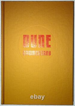 Frank Herbert Dune Folio Society Signé Limitée Numérotée Deluxe Relié Ed Vf