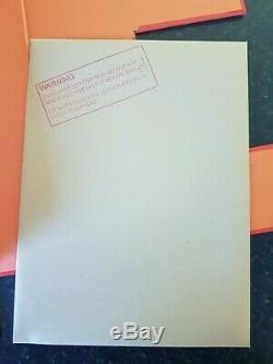 Genesis Breyer P-orridge Livre / 3x7 De Luxe Superbe Signe # 12 333 Psychic Tv