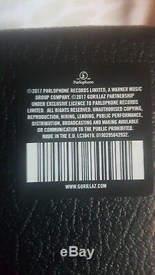 Gorillaz Humanz Super Deluxe Vinyl Box Set Scelles! Signé