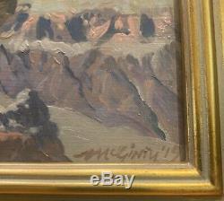 Grand Canyon Plein Peinture À L'huile De L'air Par Mick Mcginty